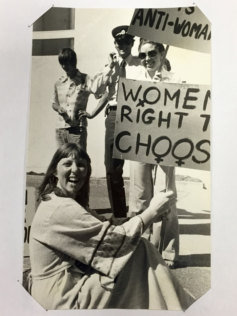 Abortion demonstration, Gisborne, 1977.jpg