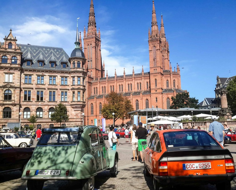 Car Show in Wiesbaden