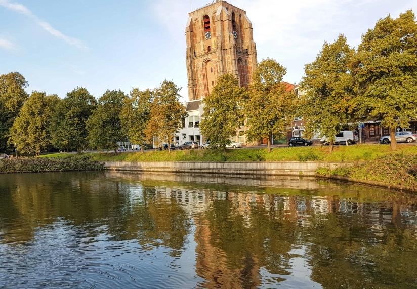Leeuwarden leaning tower_edited
