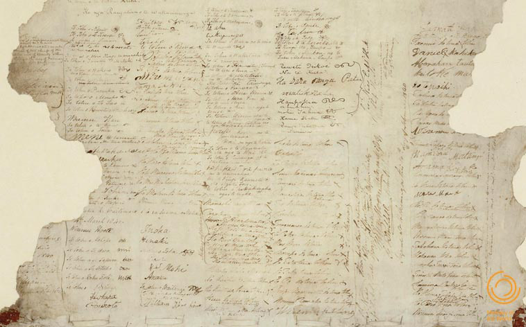 Treaty of Waitangi document