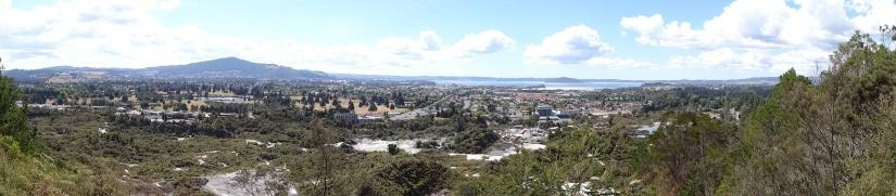 A view of Rotorua
