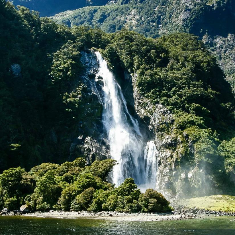 Milford Sound - Bowen Falls_