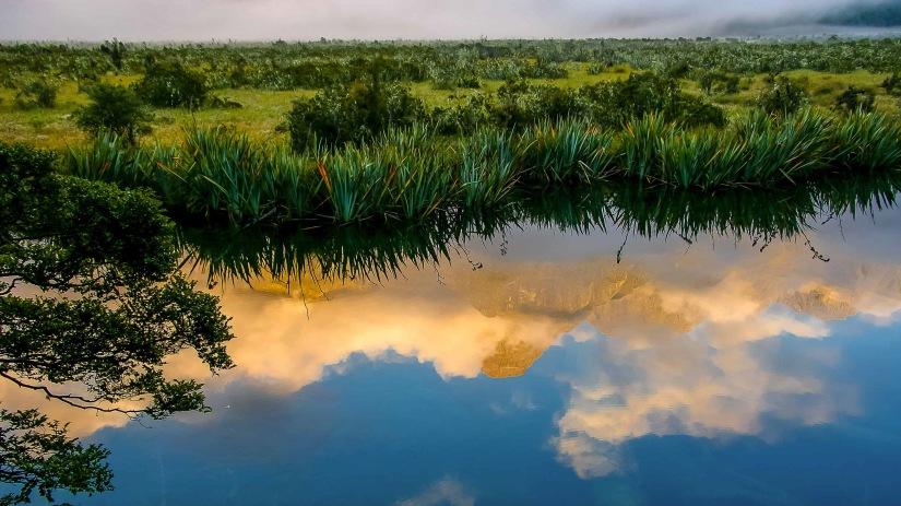 Mirror Lake upside down