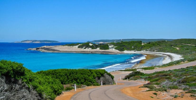 Coast road near Esperance Western Australia