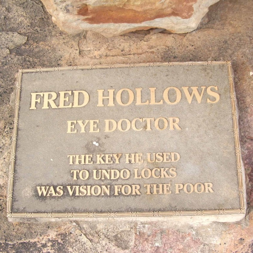 Fred Hollows gravesite