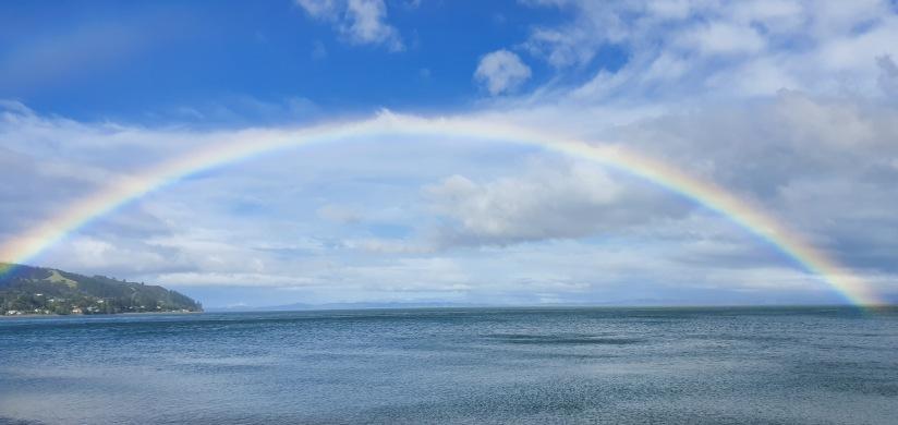 Rainbow lasted 40 minutes