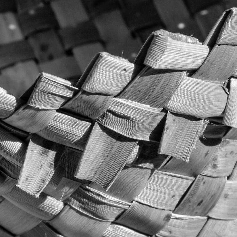 Harekeke [flax] Basket