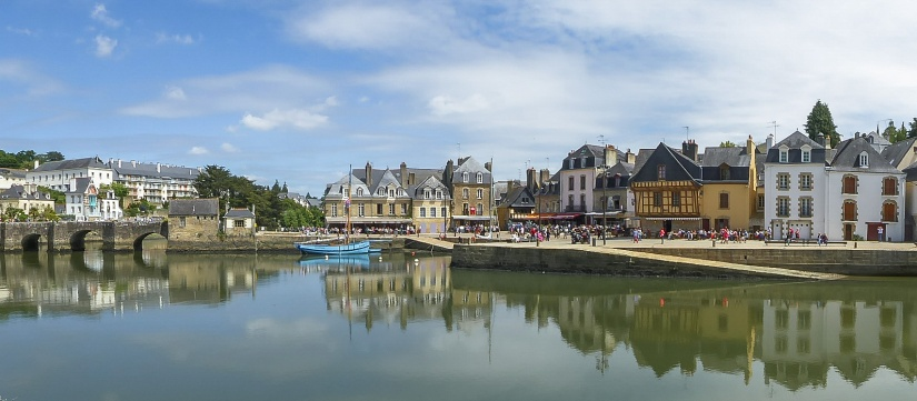 Saint Goustan harbour