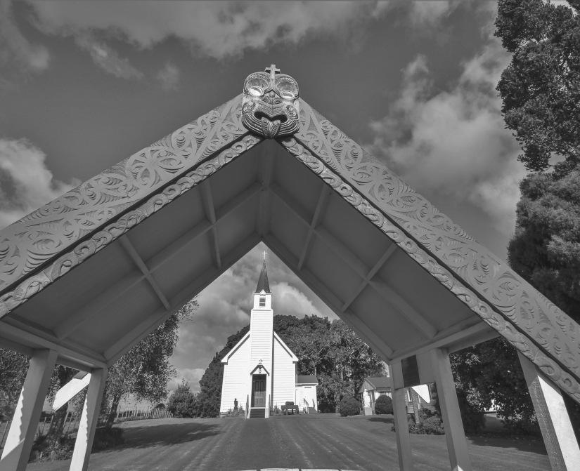 Old Te Puna church.