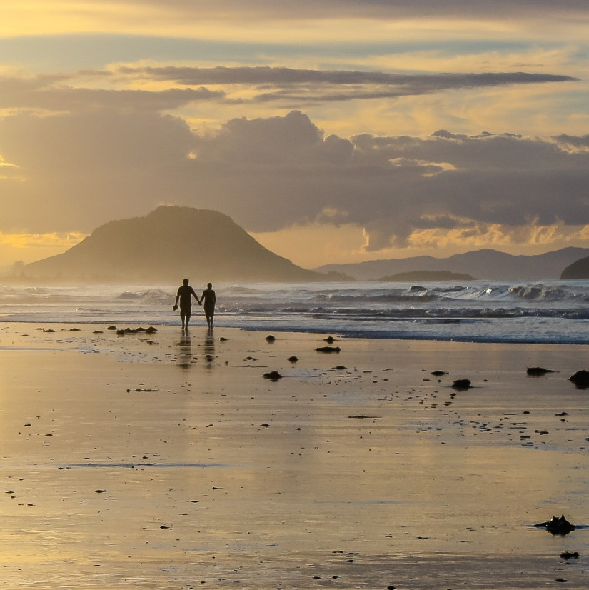 A couple on Papamoa beach_edited